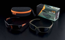 Fox XT4 Polarised Eyewear black frame / brown lense