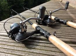Ron Thompson Kunstaas hengel + molen set 2.40cm